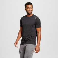 Men's Premium Tech T-Shirt Black Heather Xxl - C9 Champion