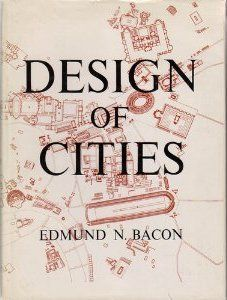 """""""Design of Cities"""" (1967), is an illustrated account of the development of urban form, written by Edmund Bacon (1910–2005).The work looks at the many aspects that influence city design, including spatial form, interactions between humans, nature and the built environment, perception of favorable environments, color, and perspective. Bacon also explores the growth of cities from early Greek and Roman times to Philadelphia's design in the 1960s. It is considered a seminal text on urban…"""