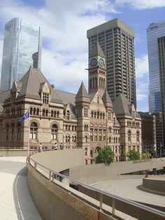 Old City Hall. Toronto, Ontario, Canada.