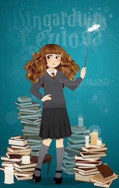 Hermione Granger by paufranco on deviantART