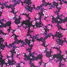 Fuchsia Floral Printed Designer Silk   #hautecouture #silk #printed #fabric #fabricstore #coralgables #shopping #onlineshopping #fabrics #women #womensfashion #fashion #fashionfabrics