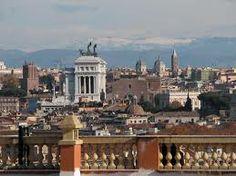Scorcio di San Pietro visto dalla terrazza del Gianicolo ...