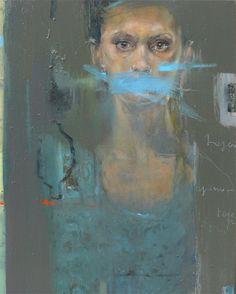 Barbara Porczyńska, A secret, oil on canvas 2013