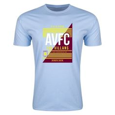Aston Villa AVFC Mens Fashion T-Shirt
