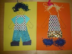ARTventurers: All About Me Collage Craft Activity - for God Made People creation Lesson