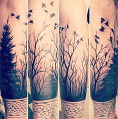 Beautiful. I want a forest tattoo of sorts.