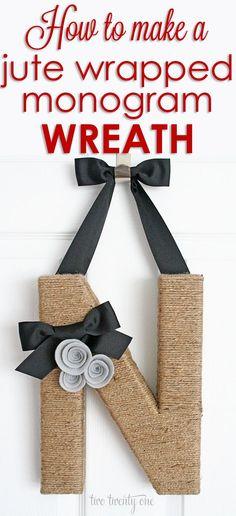 how-to-make-a-jute-wrapped-monogram-wreath.jpg 650×1,422 pixels