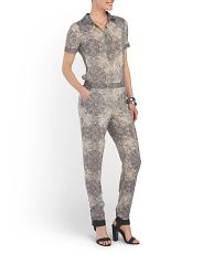 Love this jumpsuit. Would add maybe some detail to cuffs on sleeves