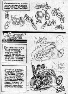 Trosley How to Draw Motorcycles