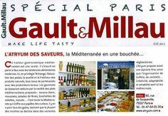 #Traiteur Atryum des saveurs #Paris17 a le plaisir de partager avec vous le @gaultmillau Spécial Paris et sa pure #gastronomie .