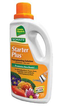 Schultz® :: Starter Plus Transplanting Solution 5-10-5 - CLICK the image to find out more! #plantfood #starter