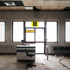 Athens Ellinikon International Airport (closed since - Olympic Airways Terminal, gate 8 Kai, International Airport, Athens, Abandoned, Entrance, Airports, Airplanes, Left Out, Entryway
