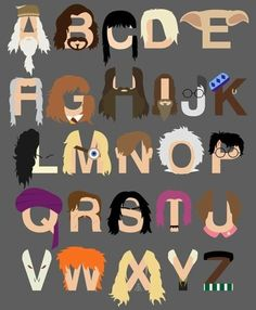 Harry Potter Alphabet
