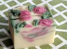 Blackberry Sage Artisan Soap!  $7.00 each or 3/$18.50 www.WoodsongArtisanSoaps.etsy.com