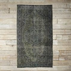 Found Turkish Rug - Green | west elm