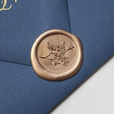 Traditional Wax Seal Stamp with Jasmine Vine motif. Illustrated by Seniman Calligraphy Seal Size: inch) Wax Letter Seal, Jasmine Vine, Blue Envelopes, Seal Design, Wax Seal Stamp, Tampons, Letter Writing, Ravenclaw, Wedding Stationery