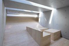 a f a s i a: Adjaye Associates Nanjing, Tile Floor, Minimalism, Villa, Stairs, Architecture, Heavenly, David, House