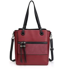 Ladies Burgundy 3 Compartment Large Tote Shoulder Leather Hand Bags – Linen and Bedding Plaid Bedding, Pink Bedding, White Bedding, Turquoise Bedding, Green Bedding, Bedding Decor, Luxury Bedding, Duvet Cover Sale, Black Duvet Cover