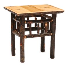 Hickory Open End Table