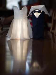 Breckenridge Peak 8 Home Reception Wedding Bride and Groom Wine Bottle Covers