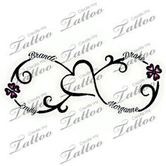 Image result for infinity tattoo mother daughter