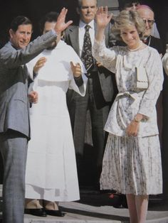 May 2, 1985: Prince Charles & Princess Diana visit the Cathedral in Trani & are received by a large crowd. Later, they visit a school for deaf children at Molfetta & watch them in a dance. Day 14