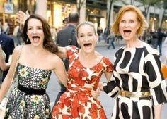 Sarah Jessica Parker, Cynthia Nixon, Kristin Davis.