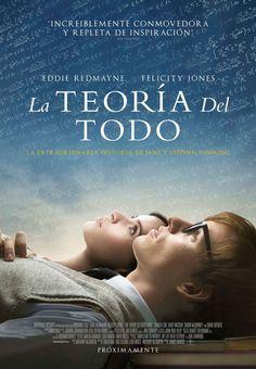 La teoría del todo, película basada en la historia de vida del gran Stephen Hawking.