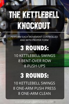 The Kettlebell Knockout | Posted By: CustomWeightLossProgram.com