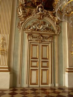 Rococo door, Nymphenburg palace, Munich, Germany | Flickr - Photo Sharing!