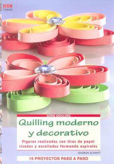 quilling moderno y decorativo-gudrun schmitt-9788498742527