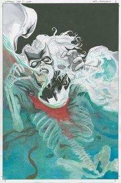 Batwoman 2-cover (original art version) by JH Williams III, via Flickr