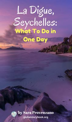 La Digue, Seychelles - What To Do in One Day - Global Storybook. La Digue is the fourth largest island in Seychelles, just behind Silhouette, and it's also the third largest island after Praslin – in terms of its population.  If you are based in Mahè and have just one week to explore Seychelles, including La Digue and Praslin, I will tell you that... globalstorybook.org