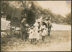 Maryland Book Wagon, circa 1905