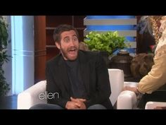 Jake Gyllenhaal Gets Seriously Spooked by Ellen DeGeneres!