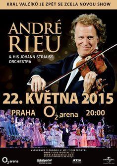 ANDRÉ RIEU & ORCHESTRA  Tour 2015