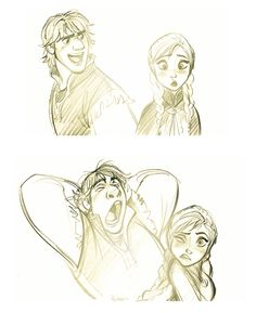 JimKim_Frozen_couple ★ Find more at http://www.pinterest.com/competing/