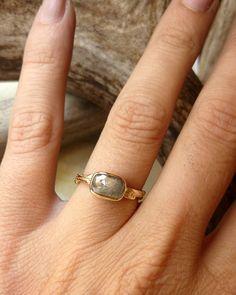 c8ffebbb608 Cushion   Oval Twig Ring - Deposit