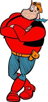 Britain's oldest comic The Dandy – home to characters such as Desperate Dan and Korky the Cat