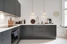 Style and Create — Love this kitchen in charcoal greyfromEpoq|...