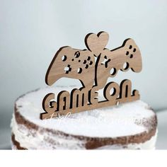 Gaming Video Game Controller Cake Topper  Event Wedding Cake
