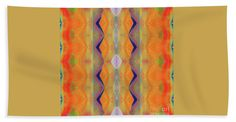 """H.p.mirror Print Towel (Beach Sheet (37"""" x 74"""")) by Expressionistart studio Priscilla Batzell.  Our towels are great."""