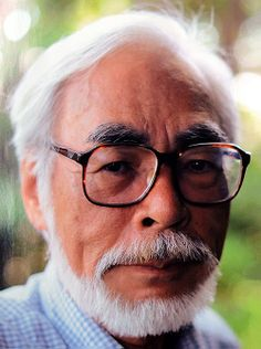 Hayao Miyazaki I love his Anime movies! so cute!