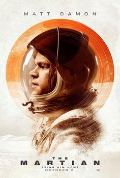 4 de octubre: The Martian (2015) de Ridley Scott. Abortando una misión recién…