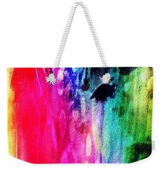 Luxe Splash Weekender Tote Bag x by Rachel Maynard. The tote bag includes cotton rope handle for easy carrying on your shoulder. Weekender Tote, Tote Bag, Mixed Media Artwork, Cotton Rope, Colour Images, Basic Colors, Bag Sale, Doodle Art, Color Show