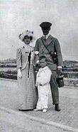 "Grand Duke Andrei Vladimirovich Romanov of Russia,Mathilde Kschessinska and their son,Vladimir Sergeivich ""Vova"".A♥W"