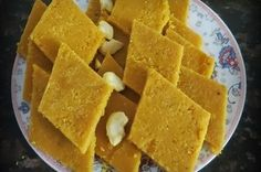A delicious Indian Dessert make with mango pulp and coconut to create a rich dessert which is enjoyed at various festivals.