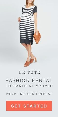 I always thought that spending a lot of money on maternity clothes seemed unnecessary and impractical. Thank you, Le Tote for opening my eyes to RENTING maternity clothes. Also, you don't even have to wash them. YASS! #MOMLYFE. #pregnancy #thedgafmom