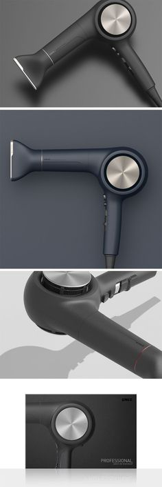What makes the Professional Hair Dryer look premium? For starters, the matte body works well against the hair dryer's simple shape. Simple shapes and matte go along pretty well, whereas complex contours look good with a gloss finish.