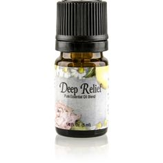 Deep Relief (5 ml) is a blend of essential #oils that relieve #pain & #inflammation and soothe aching joints & muscles. http://www.harmony4health.net/products.php?sn=3926-2
